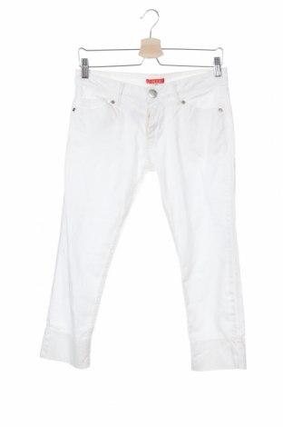 Дамски панталон Chacok, Размер S, Цвят Бял, 97% памук, 3% еластан, Цена 57,25лв.