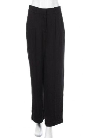 Дамски панталон Edited, Размер M, Цвят Черен, Вискоза, Цена 30,40лв.