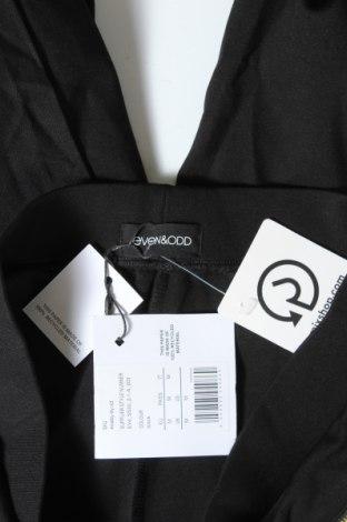 Дамски панталон Even&Odd, Размер M, Цвят Черен, 72% вискоза, 24% полиамид, 4% еластан, Цена 44,25лв.
