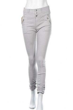 Γυναικείο παντελόνι Floyd By Smith, Μέγεθος L, Χρώμα Γκρί, 70% βαμβάκι, 23% πολυεστέρας, 3% ελαστάνη, Τιμή 8,87€