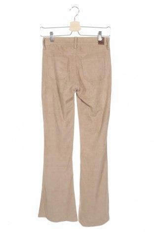 Дамски панталон Guess, Размер XS, Цвят Бежов, 87% полиестер, 13% еластан, Цена 50,70лв.