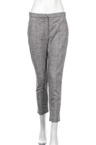 Дамски панталон H&M, Размер M, Цвят Сив, 53% вискоза, 44% полиамид, 3% еластан, Цена 12,08лв.