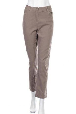 Γυναικείο παντελόνι Iwie, Μέγεθος L, Χρώμα Καφέ, 70% βισκόζη, 28% πολυαμίδη, 4% ελαστάνη, Τιμή 15,59€