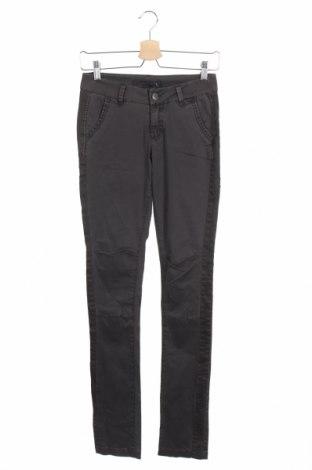 Дамски панталон Kon & Mon, Размер XS, Цвят Сив, 98% памук, 2% еластан, Цена 7,97лв.