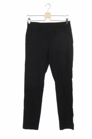 Дамски панталон La Mode Est A Vous, Размер S, Цвят Черен, 70% вискоза, 26% полиамид, 4% еластан, Цена 12,40лв.