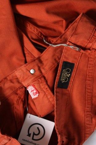 Дамски панталон Le Temps Des Cerises, Размер L, Цвят Кафяв, 97% памук, 3% еластан, Цена 18,48лв.