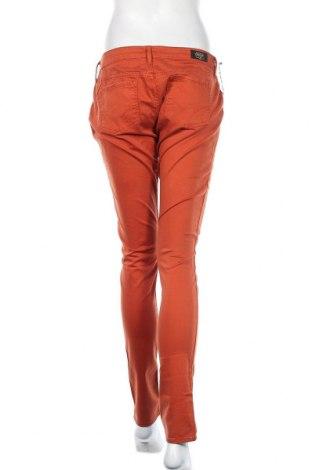 Дамски панталон Le Temps Des Cerises, Размер XL, Цвят Кафяв, 97% памук, 3% еластан, Цена 18,48лв.