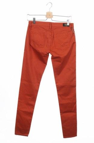 Дамски панталон Le Temps Des Cerises, Размер S, Цвят Кафяв, 97% памук, 3% еластан, Цена 18,48лв.