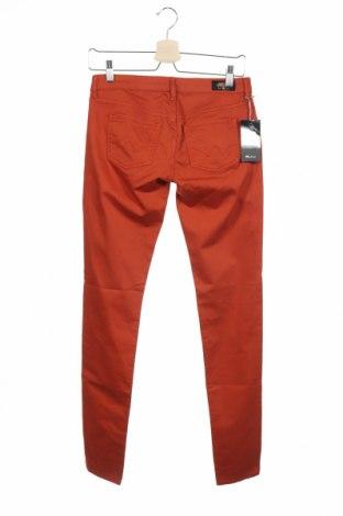 Дамски панталон Le Temps Des Cerises, Размер XS, Цвят Кафяв, 97% памук, 3% еластан, Цена 20,01лв.