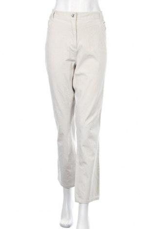 Дамски панталон Malva, Размер XXL, Цвят Бежов, 94% памук, 6% еластан, Цена 18,38лв.
