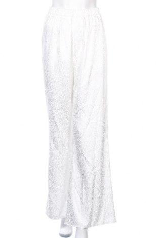 Дамски панталон Missguided, Размер S, Цвят Бял, Цена 18,20лв.