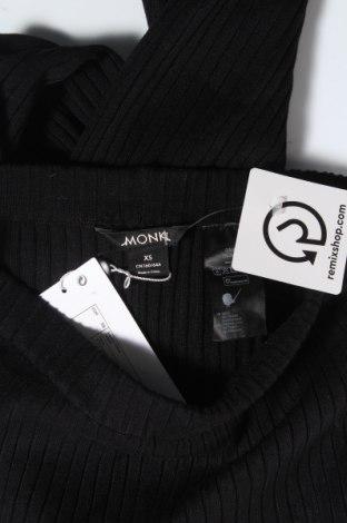 Дамски панталон Monki, Размер XS, Цвят Черен, 70% вискоза, 30% полиамид, Цена 21,70лв.