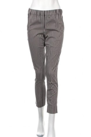 Дамски панталон Myrine, Размер M, Цвят Сив, 97% памук, 3% еластан, Цена 24,80лв.