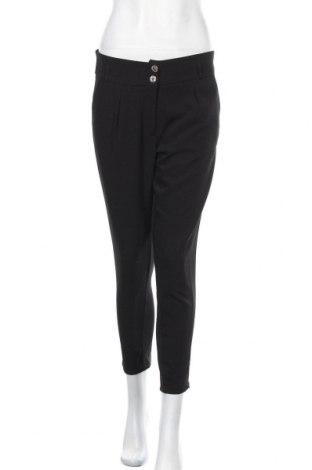 Дамски панталон New Laviva, Размер M, Цвят Черен, 95% вискоза, 5% еластан, Цена 17,25лв.