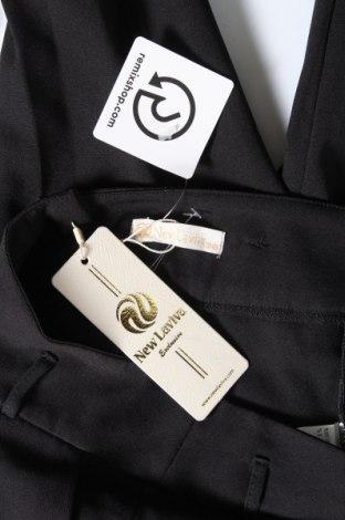 Дамски панталон New Laviva, Размер M, Цвят Черен, 95% вискоза, 5% еластан, Цена 15,87лв.