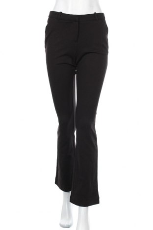 Дамски панталон ONLY, Размер S, Цвят Черен, 67% вискоза, 28% полиамид, 5% еластан, Цена 20,46лв.