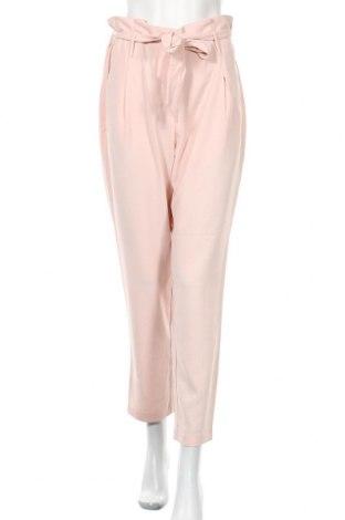 Дамски панталон ONLY, Размер L, Цвят Розов, 97% полиестер, 3% еластан, Цена 46,50лв.