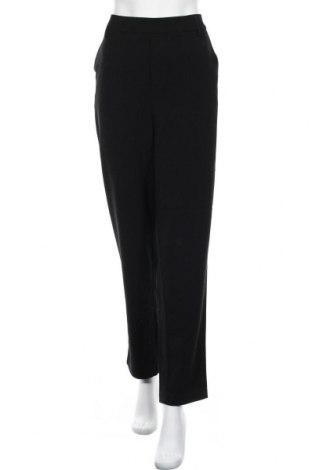 Дамски панталон Only Carmakoma, Размер XL, Цвят Черен, 63% полиестер, 33% вискоза, 4% еластан, Цена 51,75лв.