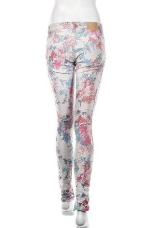 Дамски панталон Please, Размер S, Цвят Многоцветен, 75% памук, 22% полиестер, 3% еластан, Цена 28,62лв.