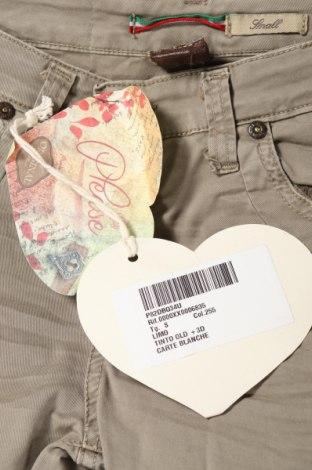 Дамски панталон Please, Размер S, Цвят Зелен, 98% памук, 2% еластан, Цена 19,04лв.
