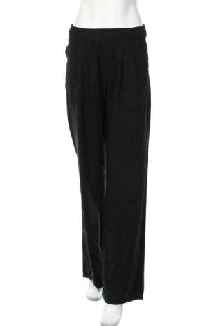 Дамски панталон Pull&Bear, Размер S, Цвят Черен, 90% вискоза, 10% полиестер, Цена 17,70лв.
