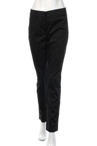Дамски панталон S.Oliver, Размер M, Цвят Черен, 98% памук, 2% еластан, Цена 19,79лв.