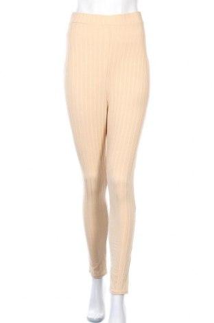 Γυναικείο παντελόνι Simple Wish, Μέγεθος S, Χρώμα  Μπέζ, Τιμή 6,70€