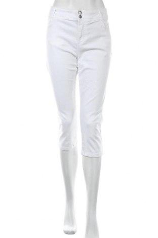 Γυναικείο παντελόνι Soya Concept, Μέγεθος XL, Χρώμα Λευκό, Τιμή 14,20€