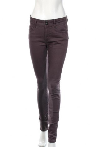 Γυναικείο παντελόνι Soya Concept, Μέγεθος M, Χρώμα Βιολετί, 74% βαμβάκι, 24% πολυεστέρας, 2% ελαστάνη, Τιμή 7,28€