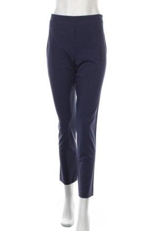 Γυναικείο παντελόνι Stefanel, Μέγεθος M, Χρώμα Μπλέ, 62% πολυεστέρας, 33% βισκόζη, 5% ελαστάνη, Τιμή 54,26€