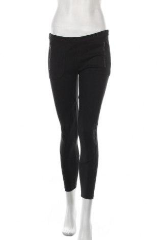 Дамски панталон Stefanel, Размер L, Цвят Черен, 68% вискоза, 27% полиамид, 5% еластан, Цена 38,27лв.
