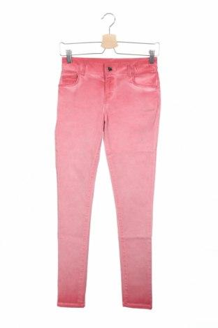 Дамски панталон TWINSET, Размер XS, Цвят Розов, 88% памук, 10% полиестер, 2% еластан, Цена 25,35лв.