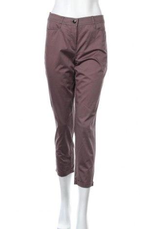 Дамски панталон Taifun, Размер S, Цвят Бежов, 97% памук, 3% еластан, Цена 6,87лв.