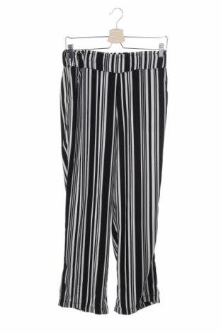 Дамски панталон Takko Fashion, Размер XS, Цвят Черен, Полиестер, Цена 6,55лв.