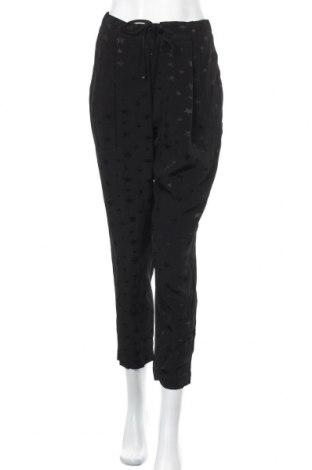 Дамски панталон Tommy Hilfiger, Размер S, Цвят Черен, Вискоза, Цена 141,75лв.