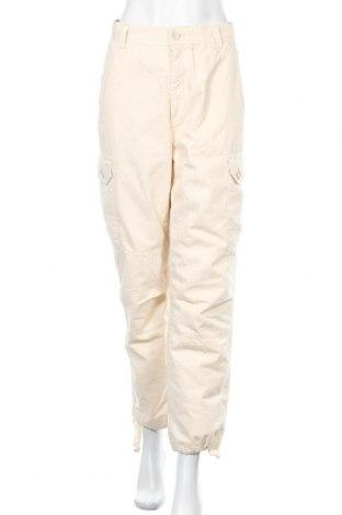Дамски панталон Topshop, Размер M, Цвят Екрю, Памук, Цена 25,08лв.