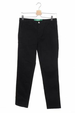 Γυναικείο παντελόνι United Colors Of Benetton, Μέγεθος XS, Χρώμα Μαύρο, 98% βαμβάκι, 2% ελαστάνη, Τιμή 10,97€