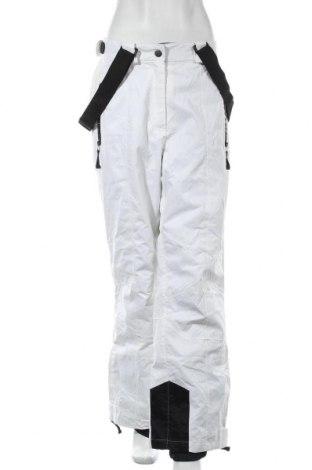 Дамски панталон за зимни спортове Crane, Размер XL, Цвят Бял, Полиамид, Цена 12,56лв.