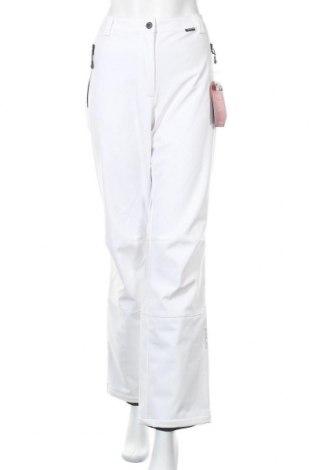 Γυναίκειο παντελόνι για χειμερινά σπορ Icepeak, Μέγεθος XL, Χρώμα Λευκό, 94% πολυεστέρας, 6% ελαστάνη, Τιμή 20,04€