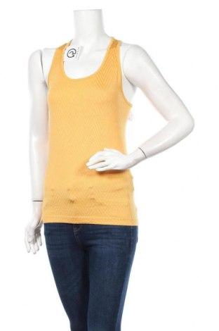 Дамски потник Casall, Размер L, Цвят Жълт, 98% полиамид, 2% еластан, Цена 16,00лв.