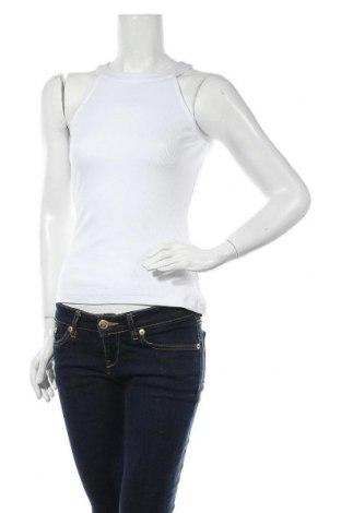 Дамски потник Even&Odd, Размер S, Цвят Бял, 95% памук, 5% еластан, Цена 13,00лв.