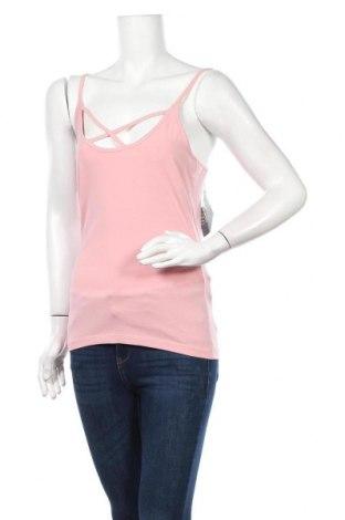Дамски потник Even&Odd, Размер L, Цвят Розов, 95% памук, 5% еластан, Цена 15,40лв.