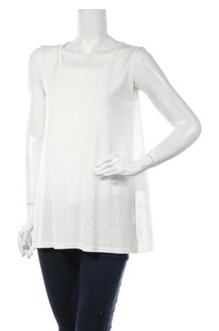 Γυναικείο αμάνικο μπλουζάκι Masai, Μέγεθος S, Χρώμα Λευκό, 83% βισκόζη, 17% πολυεστέρας, Τιμή 6,34€