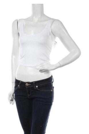 Γυναικείο αμάνικο μπλουζάκι Miss Selfridge, Μέγεθος S, Χρώμα Λευκό, 94% βαμβάκι, 6% ελαστάνη, Τιμή 11,98€