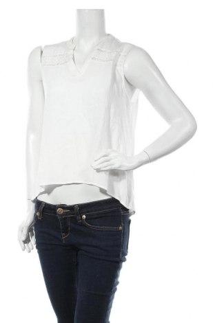 Γυναικείο αμάνικο μπλουζάκι ONLY, Μέγεθος M, Χρώμα Λευκό, Βισκόζη, Τιμή 4,90€