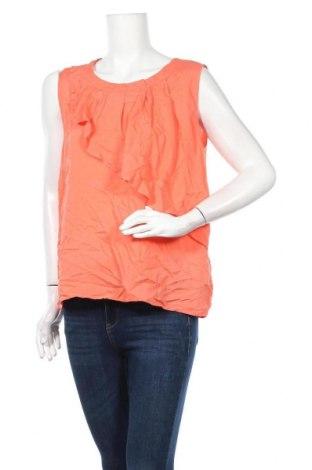 Γυναικείο αμάνικο μπλουζάκι Soya Concept, Μέγεθος M, Χρώμα Πορτοκαλί, Βισκόζη, Τιμή 9,07€