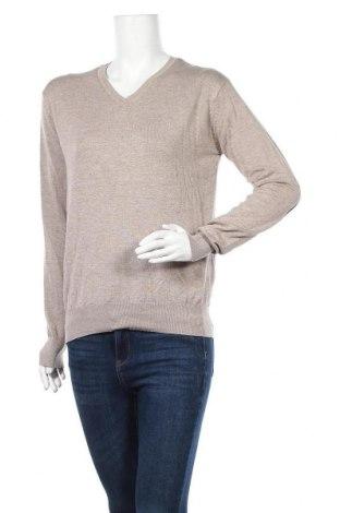 Γυναικείο πουλόβερ Alcott, Μέγεθος L, Χρώμα  Μπέζ, 78% βισκόζη, 22% πολυαμίδη, Τιμή 5,23€