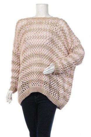 Γυναικείο πουλόβερ Ane Mone, Μέγεθος L, Χρώμα Ρόζ , 45%ακρυλικό, 55% μεταλλικά νήματα, Τιμή 19,74€