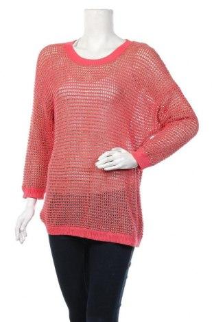 Γυναικείο πουλόβερ Apt.9, Μέγεθος M, Χρώμα Ρόζ , 58% βαμβάκι, 30% βισκόζη, 12% μεταλλικά νήματα, Τιμή 5,00€