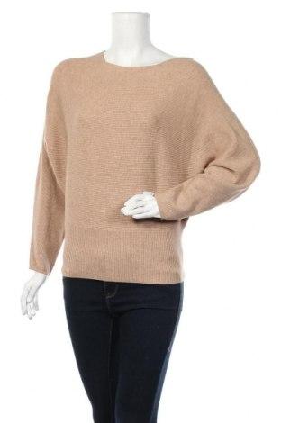 Γυναικείο πουλόβερ B.Young, Μέγεθος S, Χρώμα  Μπέζ, 50% βισκόζη, 25% πολυαμίδη, 20% πολυεστέρας, 5% ελαστάνη, Τιμή 26,68€